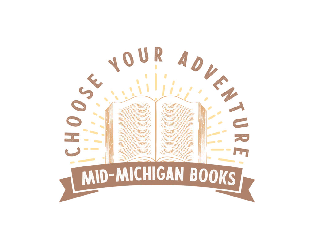 Bookstore Logo Design Choose Your Adventure